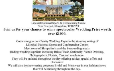 Wedding Fayre – Lilleshall Hall Sunday 8th March
