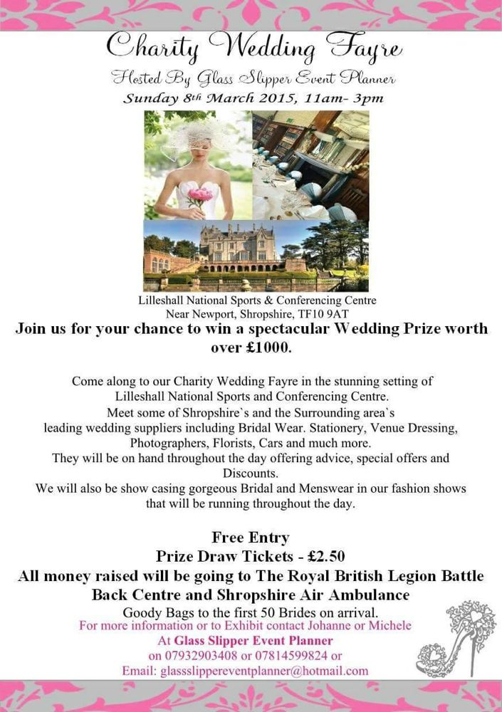 Lilleshall Hall Wedding Fayre