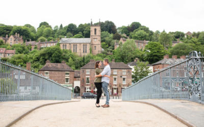 Ironbridge Pre Shoot – Vicky & Rob