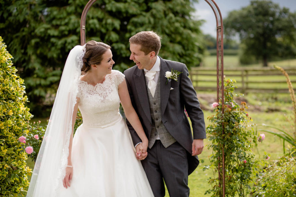 Shropshire Farm Marquee Wedding – Louise & Rich