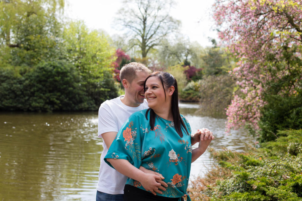 Shrewsbury Pre Wedding Shoot – Louise & Ali