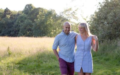 Summer Evening Pre Wedding Shoot – Alison & Brian
