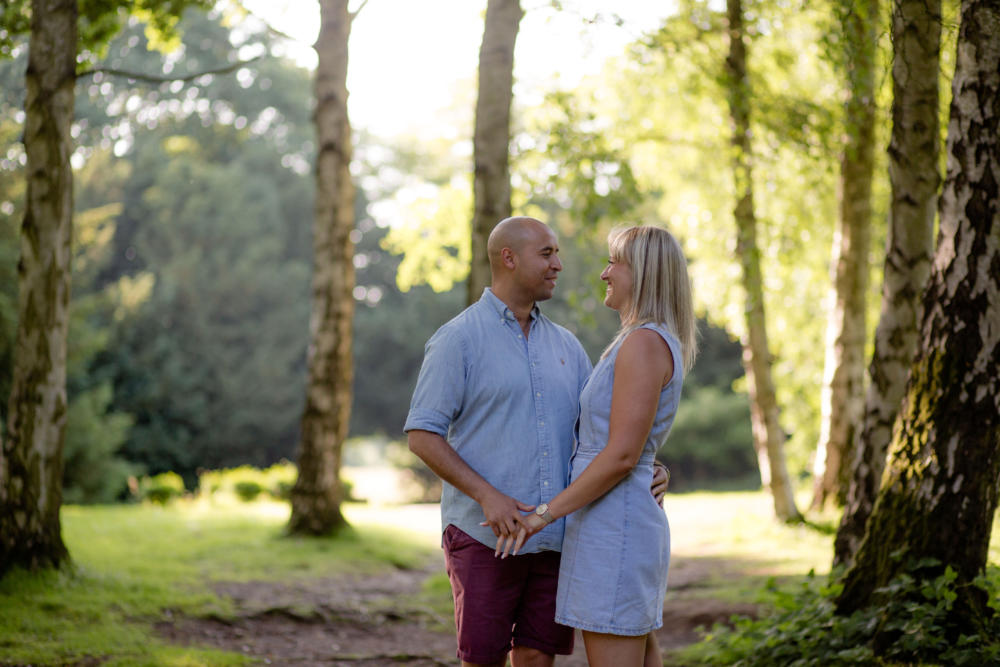 Pre wedding shoot Apley Woods Telford