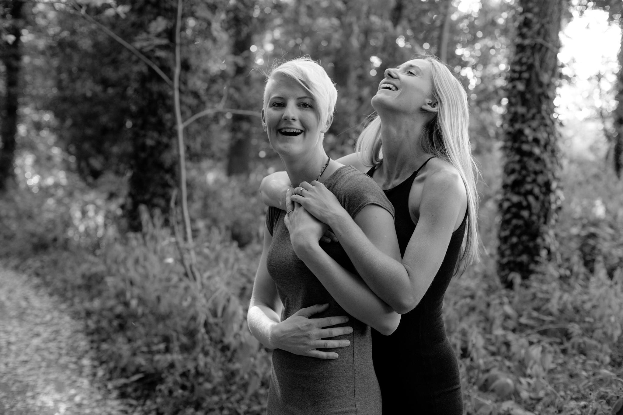 Same sex female pre wedding photo shoot Telford