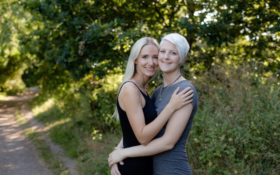 Same Sex Pre Shoot – Kate & Sophie