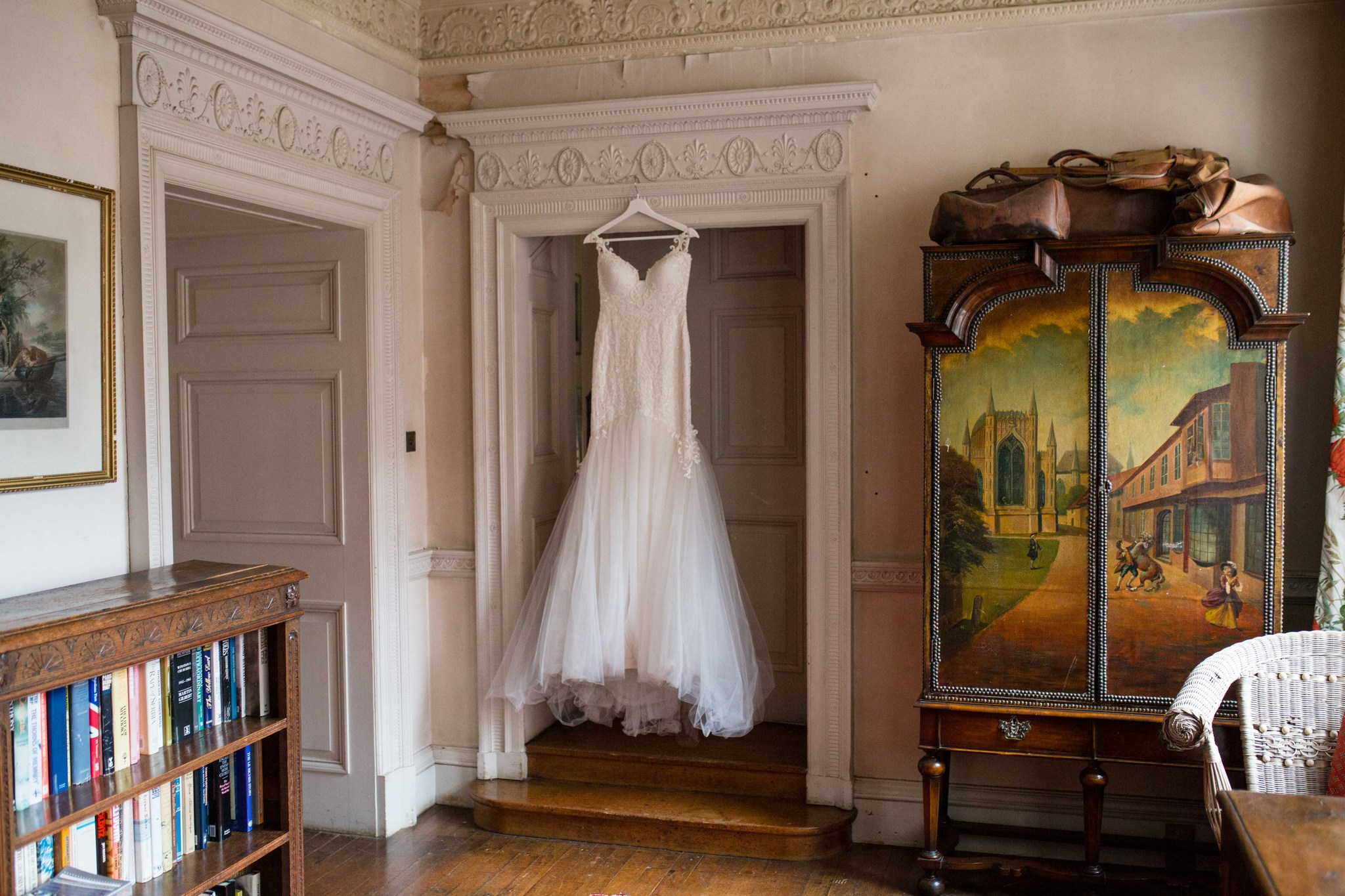 Adi Shlomo Dress Hanging Up Interior Walcot Hall Shropshire