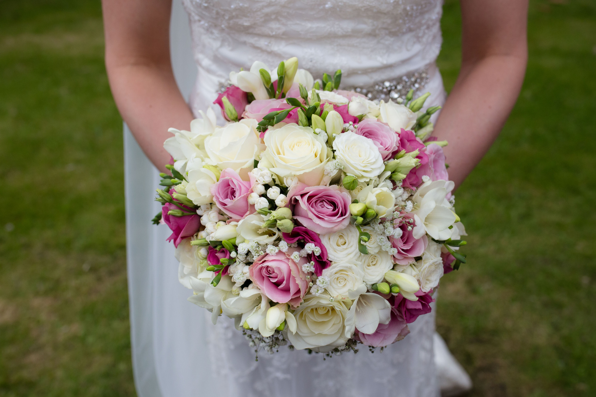 Julie Nicholas bridal bouquet at Albrighton Hall