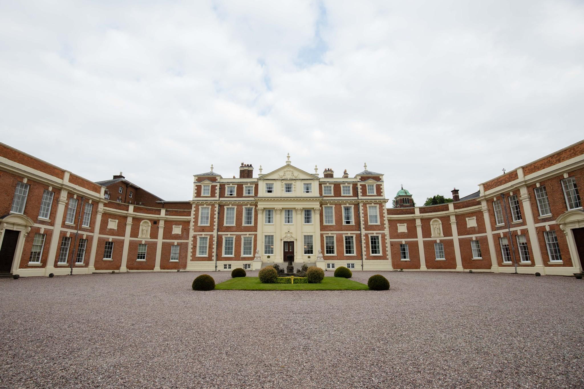 Hawkstone Hall and Gardens wedding venue