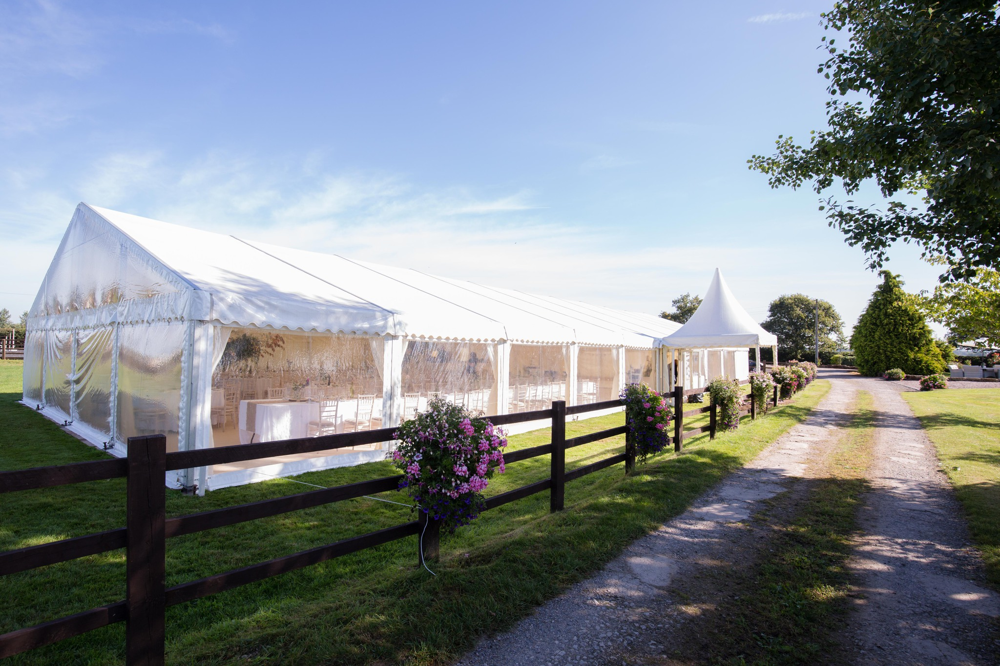 Shropshire Marquee Wedding