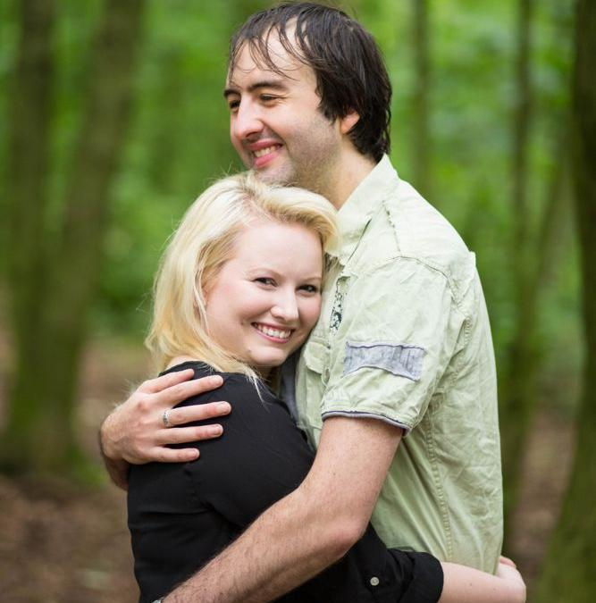 Stafford Castle Pre Wedding Shoot: Tom & Leanne