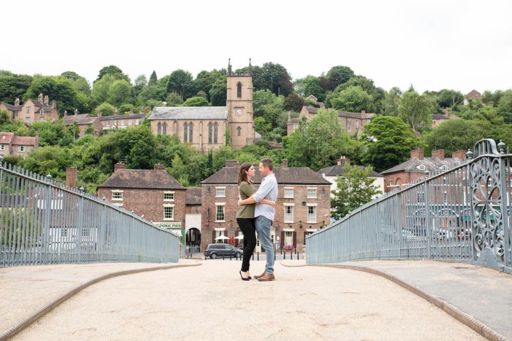 Ironbridge Pre Shoot – Vicky & Rob
