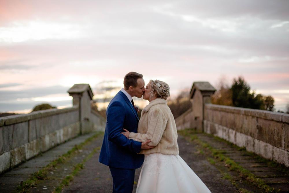 Shropshire wedding photographer Nicola Gough winter wedding Mytton and Mermaid