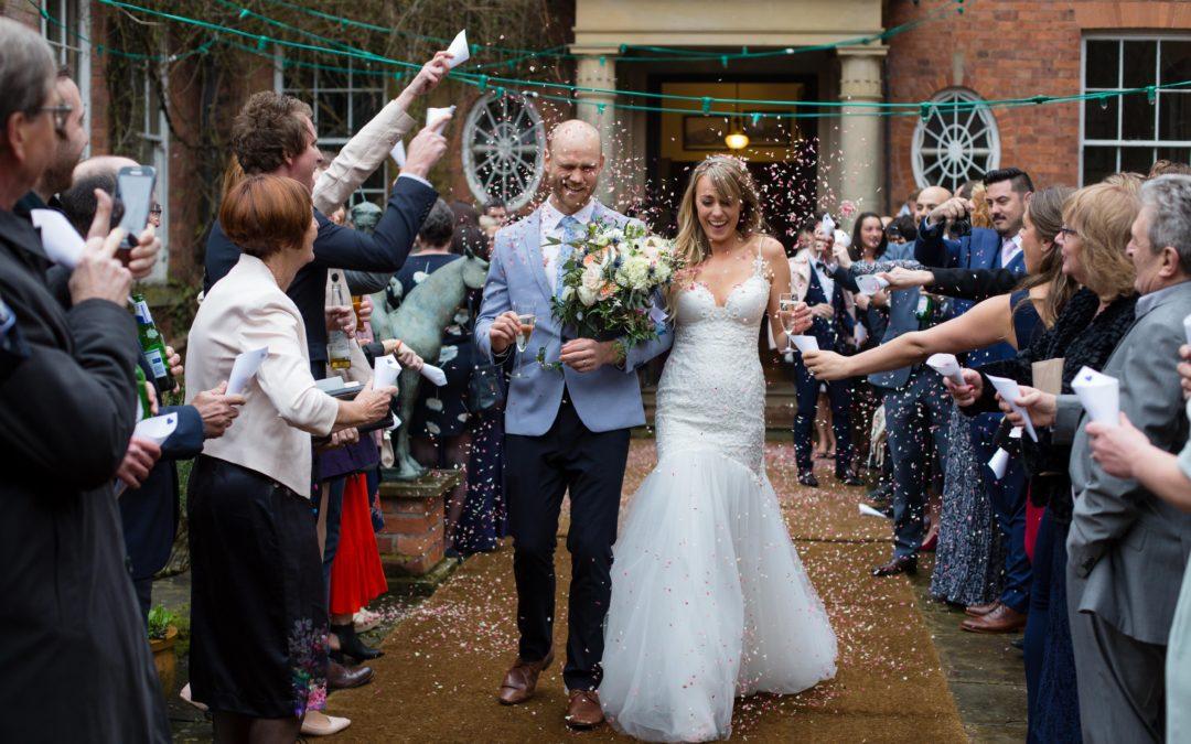 Walcot Hall Wedding – Jen & Michael