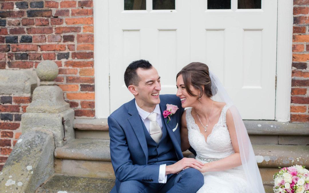 Albrighton Hall Wedding – Emma & Mark