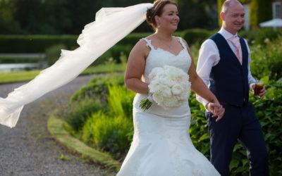 Delbury Hall Wedding – Emma & Martin