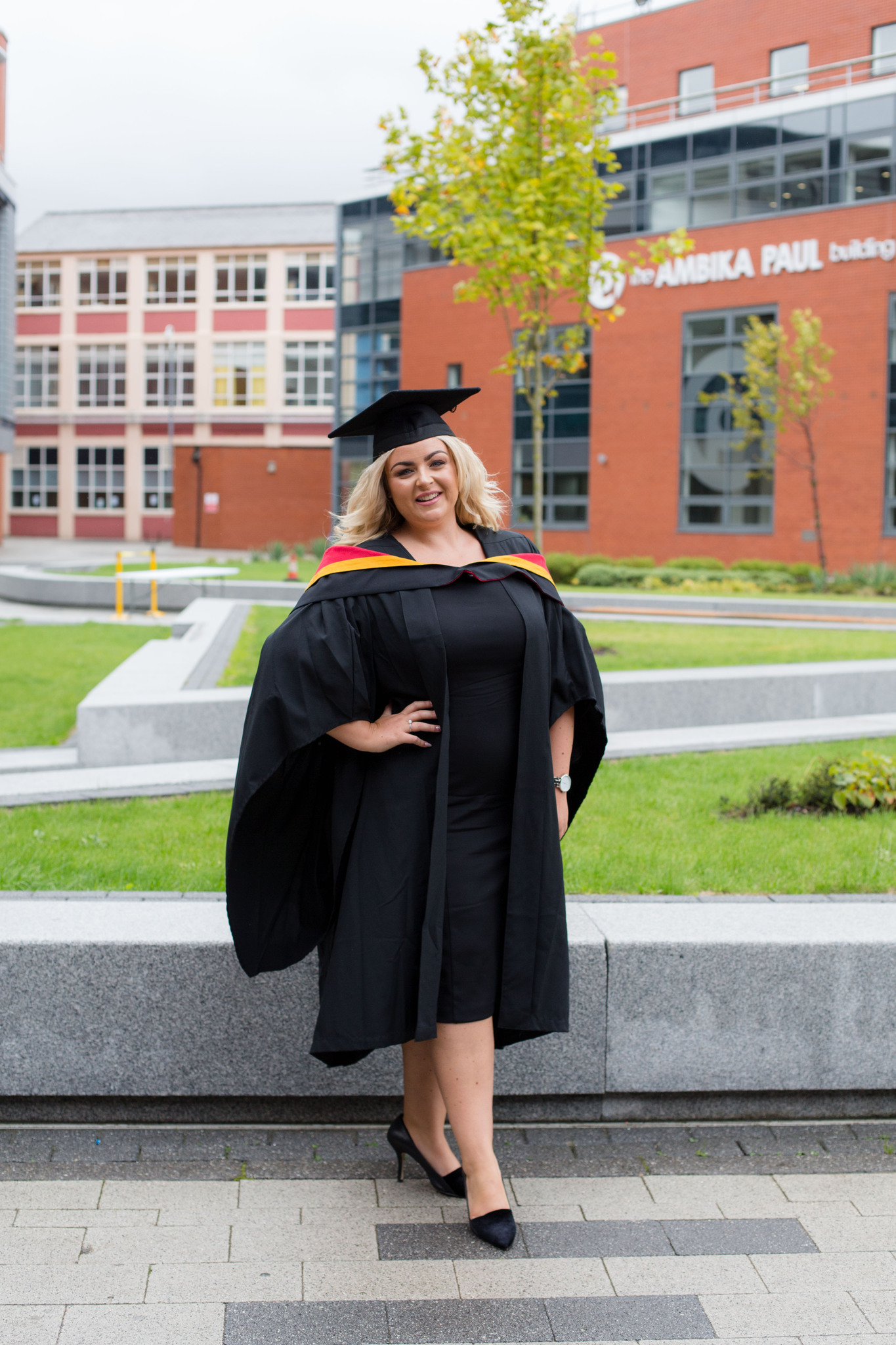 Wolverhampton University Graduation Portrait Session