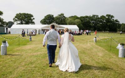Shropshire Marquee Wedding – Rachel and Alex