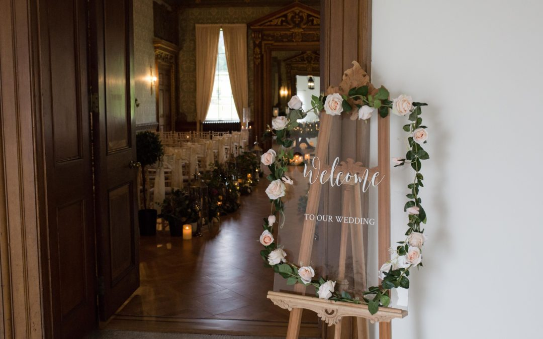 Hawkstone Hall Wedding – Styled Bridal Shoot