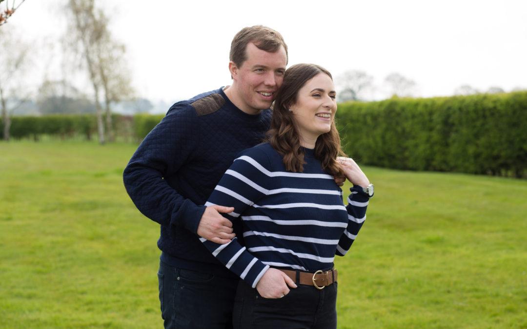 Shropshire Pre Wedding Session – Zoe & Cameron