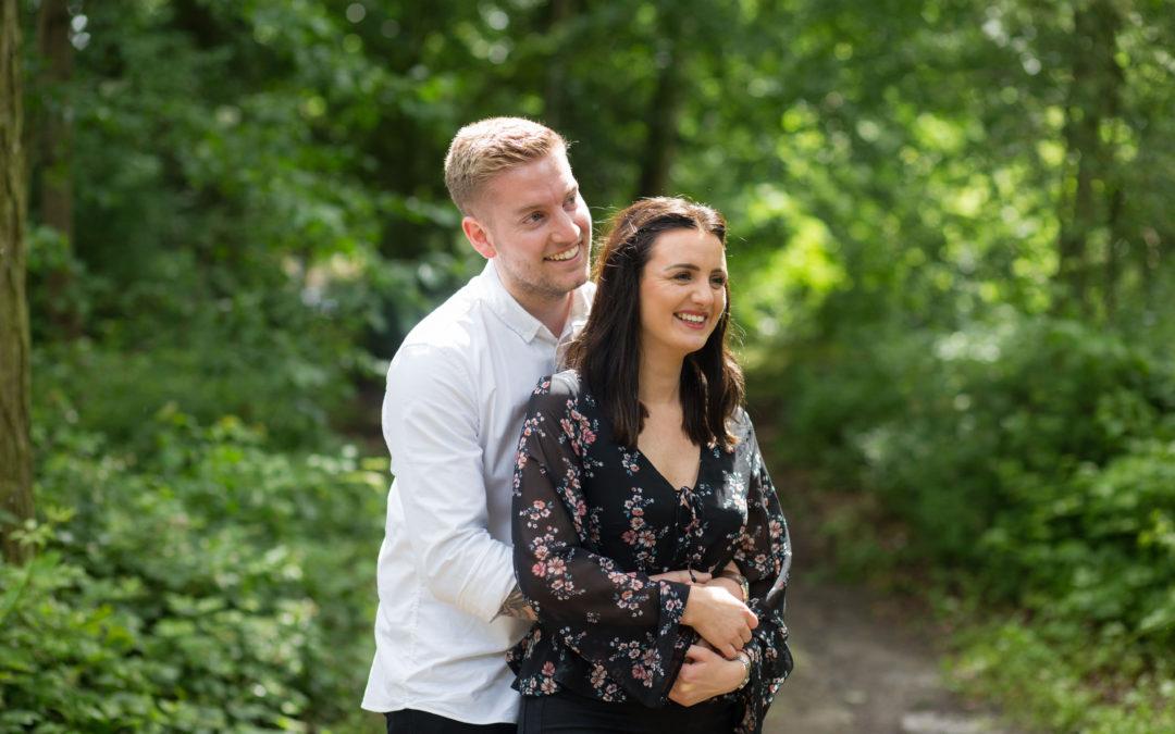 Shropshire pre wedding session – Emily & Jack