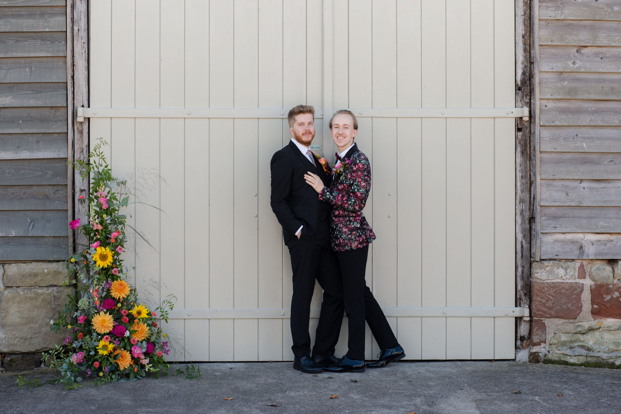 Surprise proposal shoot at Pimhill Barn